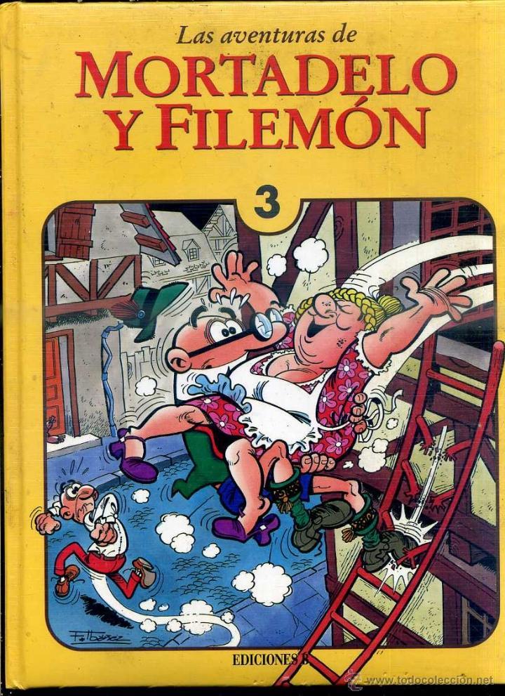 MORTADELO Y FILEMÓN TOMO 3 (EDICIONES B, 1994) 1ª EDICIÓN - GUAFLEX (Tebeos y Comics - Bruguera - Mortadelo)