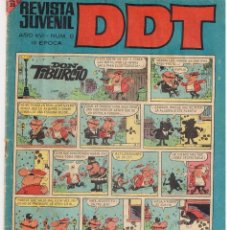 Tebeos: DDT TECERA EPOCA. NUMERO 0. BRUGUERA.(ST/A15). Lote 39424365