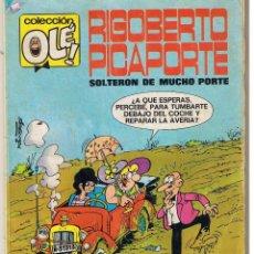 Tebeos: OLE! RIGOBERTO PICAPORTE. NUMERO 7. 5ª EDICION. BRUGUERA 1984. (ST/A10). Lote 39439159