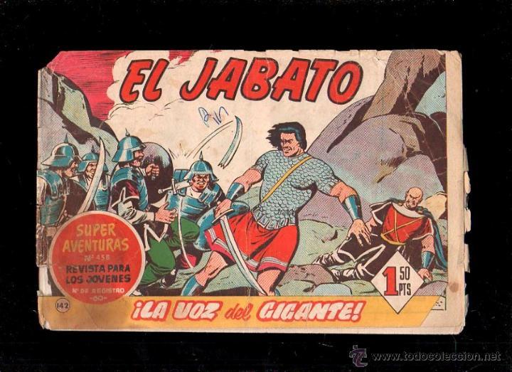 EL JABATO. LA VOZ DEL GIGANTE. Nº 142. ORIGINAL. 1961. EL DE LA FOTO (Tebeos y Comics - Bruguera - Jabato)