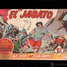 Tebeos: EL JABATO. LA VOZ DEL GIGANTE. Nº 142. ORIGINAL. 1961. EL DE LA FOTO. Lote 39484684