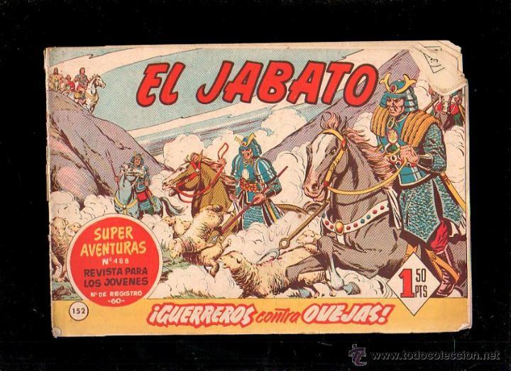 EL JABATO. GUERREROS CONTRA OVEJAS. Nº 152. ORIGINAL. 1961. EL DE LA FOTO (Tebeos y Comics - Bruguera - Jabato)