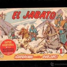Tebeos: EL JABATO. GUERREROS CONTRA OVEJAS. Nº 152. ORIGINAL. 1961. EL DE LA FOTO. Lote 39484695