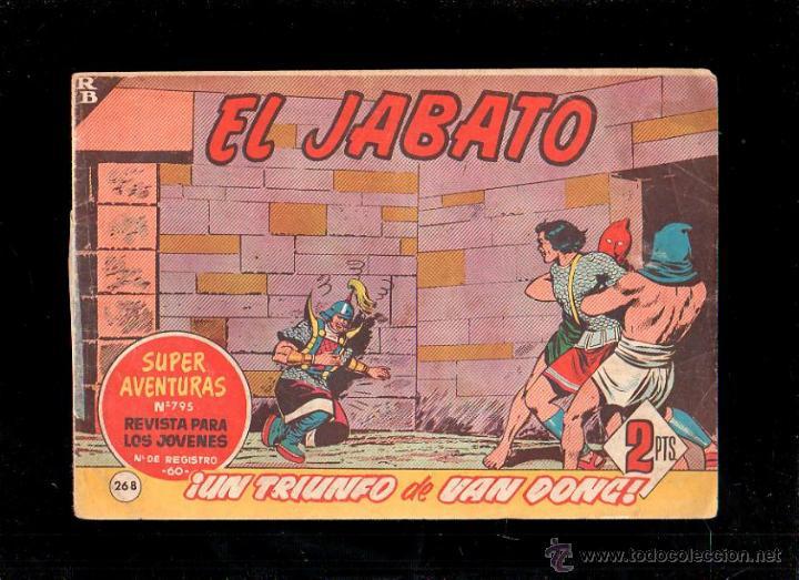 EL JABATO. UN TRIUNFO DE VAN DONG. Nº 268. ORIGINAL. 1963. EL DE LA FOTO (Tebeos y Comics - Bruguera - Jabato)