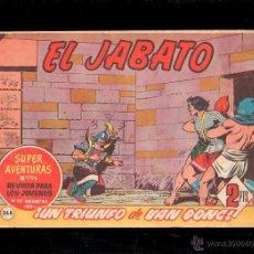 Tebeos: EL JABATO. UN TRIUNFO DE VAN DONG. Nº 268. ORIGINAL. 1963. EL DE LA FOTO. Lote 39484720