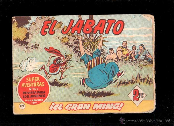 EL JABATO. EL GRAN MING. Nº 272. ORIGINAL. 1963. EL DE LA FOTO (Tebeos y Comics - Bruguera - Jabato)