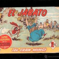 Tebeos: EL JABATO. EL GRAN MING. Nº 272. ORIGINAL. 1963. EL DE LA FOTO. Lote 39484730