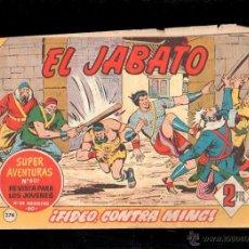 Tebeos: EL JABATO. FIDEO, CONTRA MING. Nº 274. ORIGINAL. 1963. EL DE LA FOTO. Lote 39484752