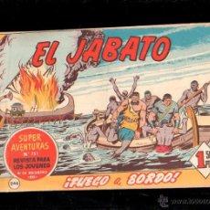 Tebeos: EL JABATO. FUEGO A BORDO. Nº 246. ORIGINAL. 1963. EL DE LA FOTO. Lote 39484826