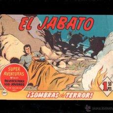Tebeos: EL JABATO. SOMBRAS DE TERROR. Nº 201. ORIGINAL. 1962. EL DE LA FOTO. Lote 39484831