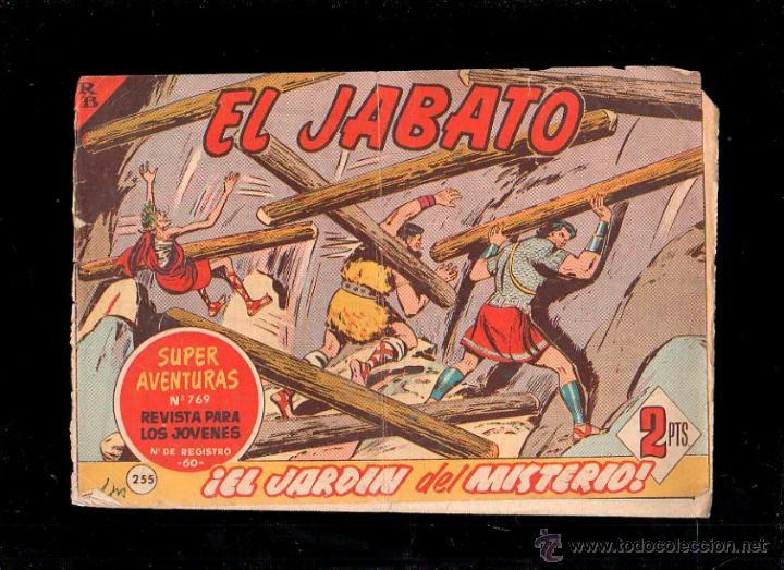 EL JABATO. EL JARDIN DEL MISTERIO. Nº 255. ORIGINAL. 1963. EL DE LA FOTO (Tebeos y Comics - Bruguera - Jabato)
