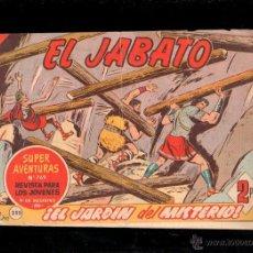 Tebeos: EL JABATO. EL JARDIN DEL MISTERIO. Nº 255. ORIGINAL. 1963. EL DE LA FOTO. Lote 39484930