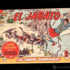 Tebeos: EL JABATO. EL GRAN VAMPIRO. Nº 303. ORIGINAL. 1964. EL DE LA FOTO. Lote 39484969