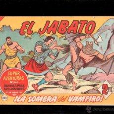 Tebeos: EL JABATO. LA SOMBRA DEL VAMPIRO. Nº 305. ORIGINAL. 1964. EL DE LA FOTO. Lote 39485026