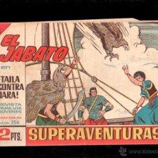 Tebeos: EL JABATO. TAILA CONTRA DARA. Nº 356. ORIGINAL. EL DE LA FOTO. Lote 39485093