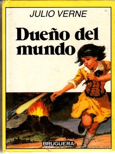 LIBRO-COMIC JULIO VERNE Nº 34 FORMATO BOLSILLO BRUGUERA 4ª ED.1986 (Tebeos y Comics - Bruguera - Historias Selección)
