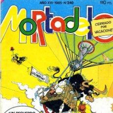 Tebeos: MORTADELO Nº240 (BRUGUERA, 1985). HISTORIETA DE LOS MERCENARIOS, DE CARRILLO . Lote 39509489