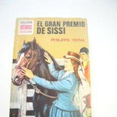 Tebeos: COLECCION HISTORIAS SELECCION EL GRAN PREMIO DE SISSI ED. BRUGUERA 8ª ED. 1977 C37. Lote 39551370