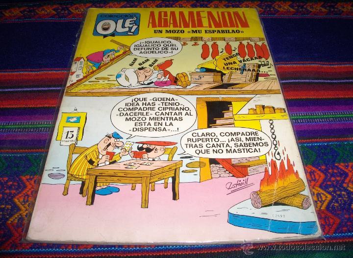 OLÉ Nº 13 AGAMENÓN. BRUGUERA 1ª EDICIÓN CON Nº EN LOMO. 40 PTS. 1971. DIFÍCIL. (Tebeos y Comics - Bruguera - Ole)