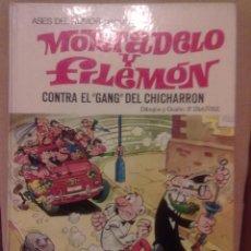 Tebeos: MORTADELO Y FILEMÓN -CONTRA EL GANG DEL CHICHARRON- EDT. BRUGUERA 2ª EDICIÓN 1979. Lote 39569914
