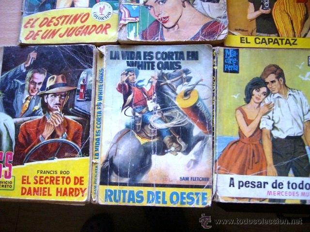 LOTE BRUGUERA + TORAY - 6 NOVELAS (Tebeos y Comics - Bruguera - Cuadernillos Varios)