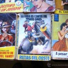 Tebeos: LOTE BRUGUERA + TORAY - 6 NOVELAS. Lote 39630284