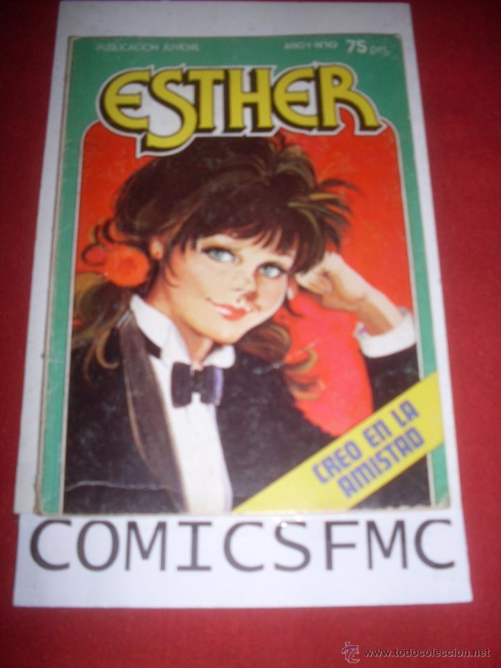 BRUGUERA ESTHER NUMERO 10 (Tebeos y Comics - Bruguera - Esther)