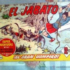 Tebeos: EL JABATO-CUADERNILLO SEMANAL ORIGINAL-Nº 303-EL GRAN VAMPIRO-GENIAL FRANCISCO DARNÍS- 1964-0986. Lote 39710954