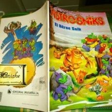 Tebeos: COMICS DE BRUGUERA ASTRONICKS EL HÉROE SNIK AÑOS 80 Y MONSTRUOS NUEVOS. Lote 39753651