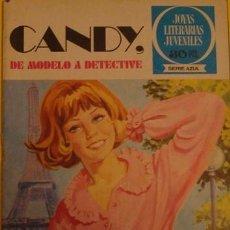 Tebeos: JOYAS LITERARIAS Y JUVENILES SERIE AZUL CANDY,DE MODELO A DETECTIVE NO.14 1978. Lote 39876729