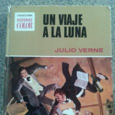 Tebeos: COLECCION HISTORIAS COLOR -- UN VIAJE A LA LUNA -- Nº 9 -- SERIE JULIO VERNE --. Lote 39914673