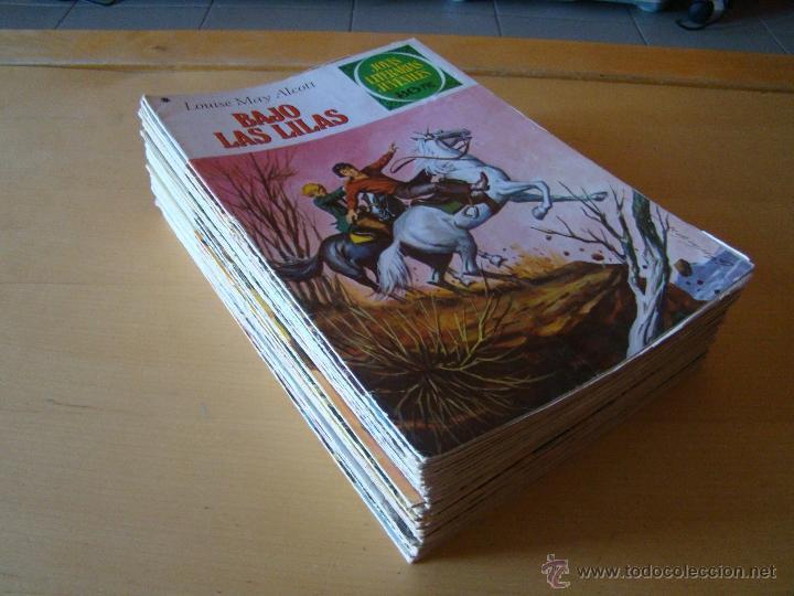LOTE DE 36 NÚMEROS DE JOYAS LITERARIAS JUVENILES (Tebeos y Comics - Bruguera - Joyas Literarias)