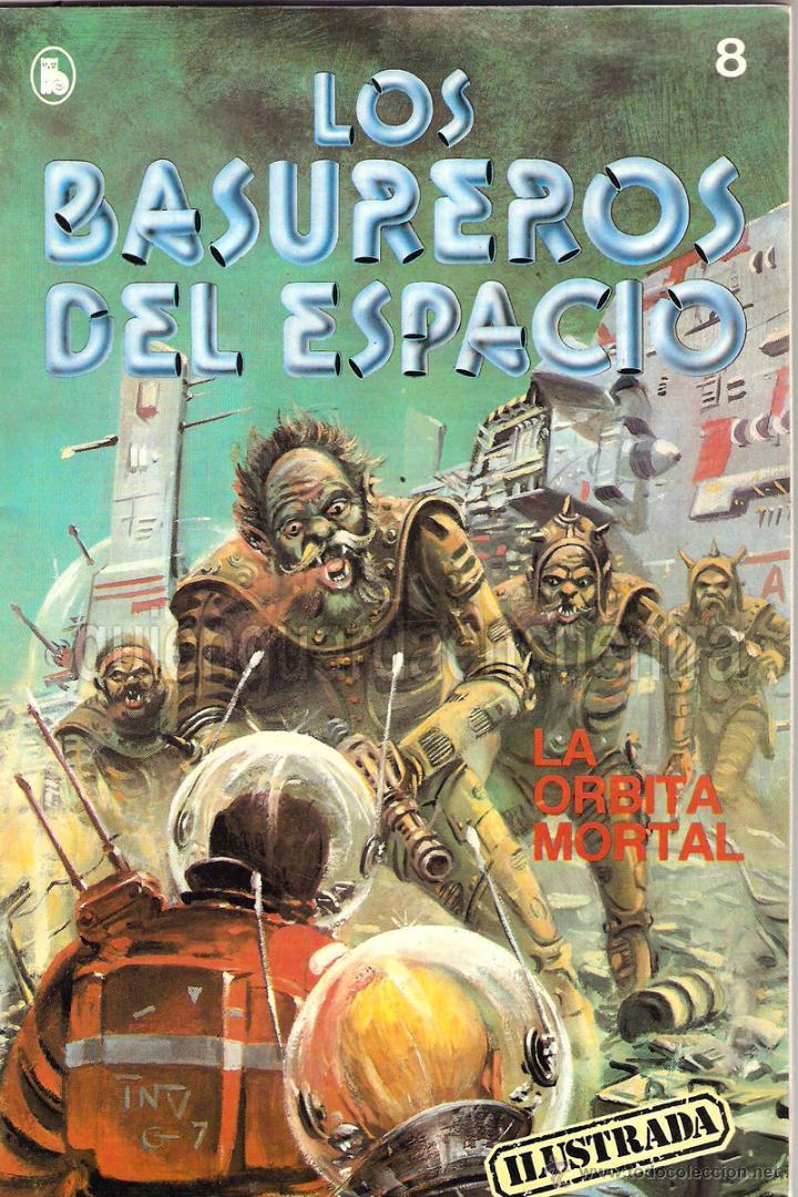 LOS BASUREROS DEL ESPACIO 11 COMICS NUEVOS 3-4-5-6-7-8-9-10-11-12-13 BRUGUERA 1986 (Tebeos y Comics - Bruguera - Otros)