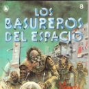 Tebeos: LOS BASUREROS DEL ESPACIO 10 NÚMEROS NUEVOS 3-4-6-7-8-9-10-11-12-13 BRUGUERA 1986. Lote 56482450