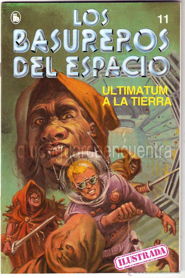 Tebeos: Los Basureros del Espacio 11 comics nuevos 3-4-5-6-7-8-9-10-11-12-13 Bruguera 1986 - Foto 4 - 56482450