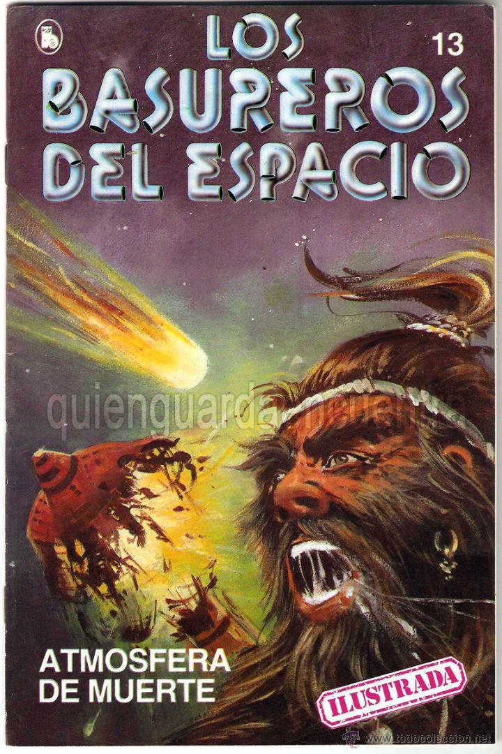 Tebeos: Los Basureros del Espacio 11 comics nuevos 3-4-5-6-7-8-9-10-11-12-13 Bruguera 1986 - Foto 6 - 56482450