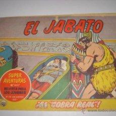 Tebeos: EL JABATO. Nº647. EL COBRA REAL. EDITORIAL BRUGUERA. 1962. Lote 39963675