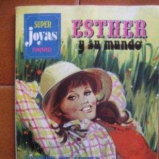 Tebeos: SUPER JOYAS FEMENINAS Nº 11 ESTHER Y SU MUNDO. Lote 40023862