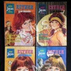 Tebeos: LOTE DE COMICS - ESTHER Y SU MUNDO - Nº 3 14 15 16 SUPER JOYAS FEMENINAS - BRUGUERA CÓMIC AÑOS 70. Lote 40027803
