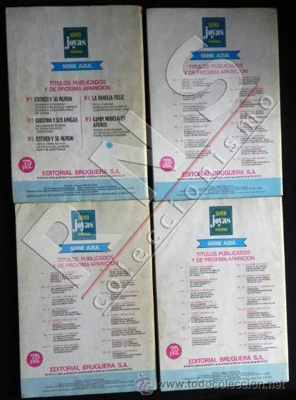 Tebeos: LOTE de COMICS - ESTHER Y SU MUNDO - Nº 3 14 15 16 SUPER JOYAS FEMENINAS - BRUGUERA CÓMIC AÑOS 70 - Foto 2 - 40027803