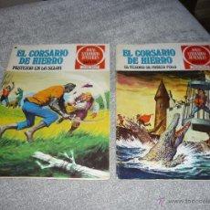 Tebeos: EL CORSARIO DE HIERRO EL TESORO DE MARCO POLO 6 Y 48 JOYAS LITERARIAS JUVENILES 1A ED 1977. Lote 40044728