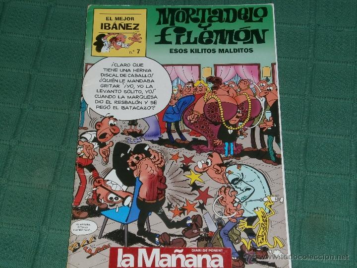 MORTADELO Y FILEMÓN - ESOS KILITOS MALDITOS - COL. EL MEJOR IBÁÑEZ NÚM 7 (Tebeos y Comics - Bruguera - Mortadelo)