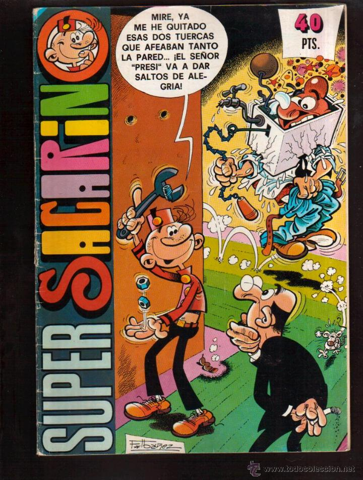 SUPER SACARINO MAS TEBEOS EN MI TIENDA EL RINCON DE JJ VISITALA (Tebeos y Comics - Bruguera - Otros)