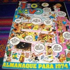 Tebeos: TIO VIVO ALMANAQUE 1974. BRUGUERA 25 PTS. .. Lote 40072349