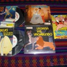 Tebeos: CUENTODISCO NºS 1, 2, 3, 4 Y 6 CON 3 DISCOS MÁS DE REGALO. BRUGUERA 1979 WALT DISNEY. PRECINTADOS!!. Lote 40083559