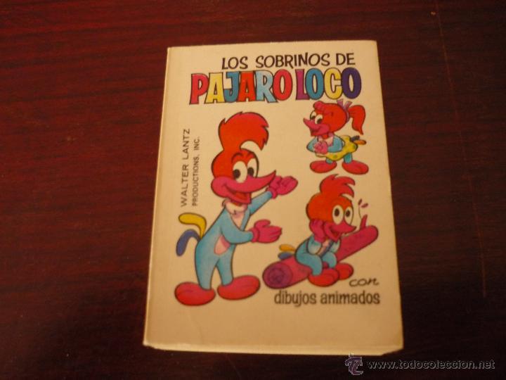 COMIC TELE INFANCIA LOS SOBRINOS DE PAJARO LOCO 1ª EDICION (Tebeos y Comics - Bruguera - Otros)