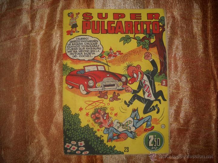 SUPER PULGARCITO Nº23,DE COLECCIONISTA,EN UN ESTADO FABULOSO.OFERTA. (Tebeos y Comics - Bruguera - Pulgarcito)