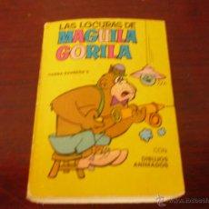 Tebeos: COLECCION MINI INFANCIA (SERIE 9 Nº 33) LAS LOCURAS DE MAGUILA GORILA BARCELONA 1969 EDIT.BRUGUERA. Lote 40106999