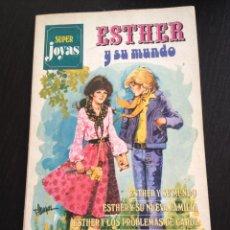 Tebeos: TEBEO SUPER JOYAS ESTHER Y SU MUNDO Nº. 1. EDITORIAL BRUGUERA. PURITA CAMPOS. Lote 40118597