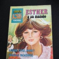 Tebeos: TEBEO SUPER JOYAS ESTHER Y SU MUNDO Nº. 9. EDITORIAL BRUGUERA. PURITA CAMPOS. Lote 40118770